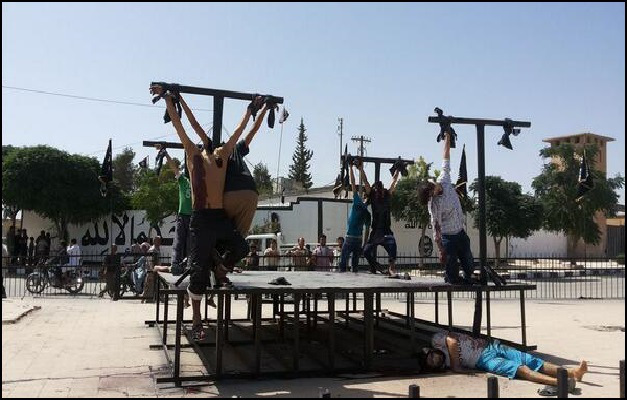 Korsfästelse i Syrien
