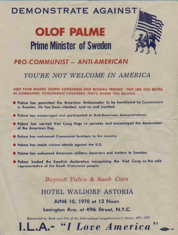 Palme-affisch