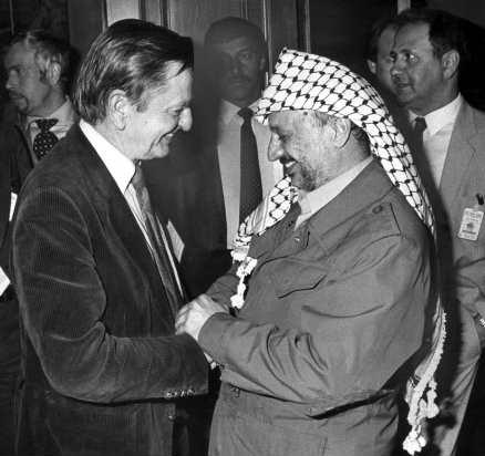 Palme och Arafat