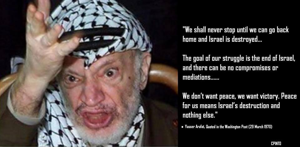Arafat visar livstecken