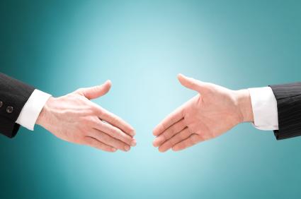 Räcka handen