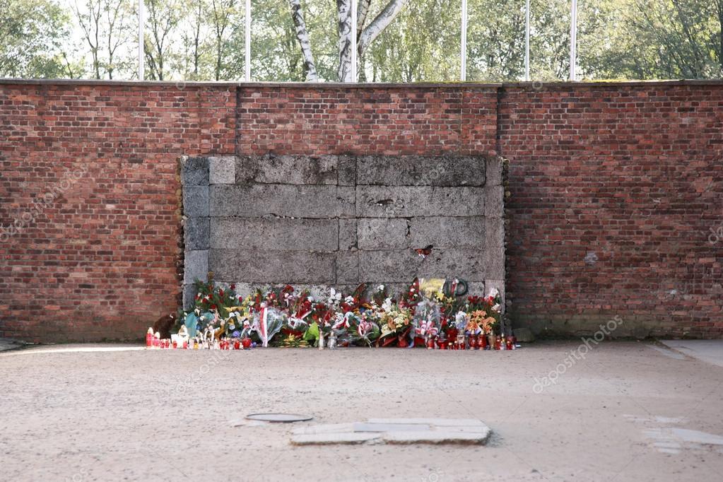 Hinrichtungswand, Auschwitz