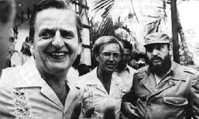 Palme, Schori och Castro
