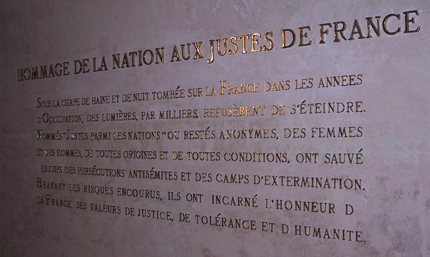 Frankrike hjälpte judarna